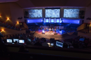 church video screens