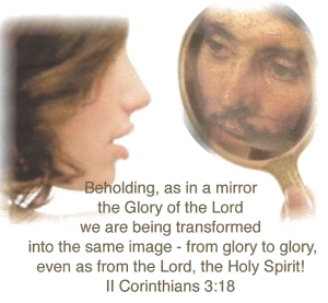 christ in the mirror