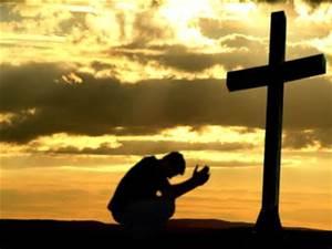 cross-praying